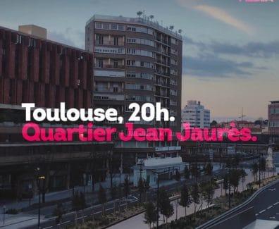 Le Quartier Jean-Jaurès rend hommage aux soignants