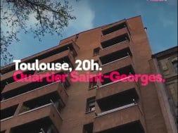 Le quartier Saint-Georges rend hommage aux soignants
