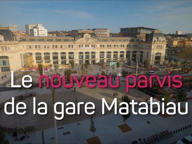 Nouveau décor à la Gare de Toulouse Matabiau